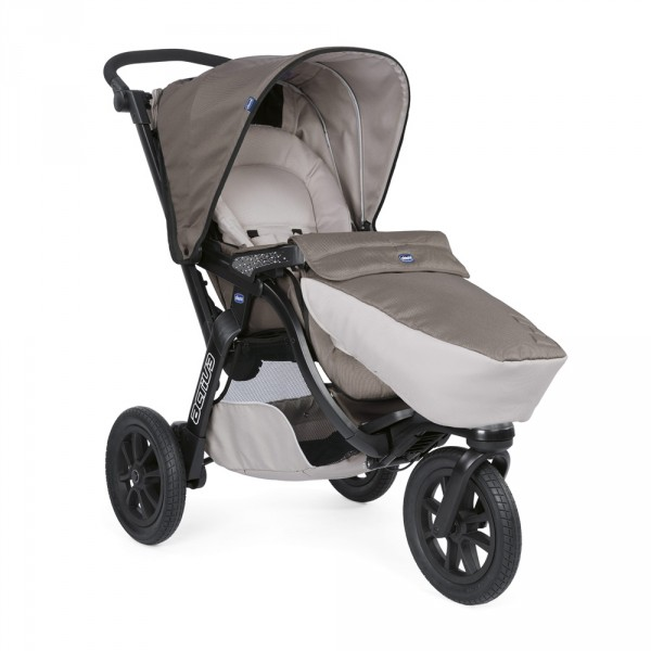 Pack poussette trio activ3 top dove grey Chicco