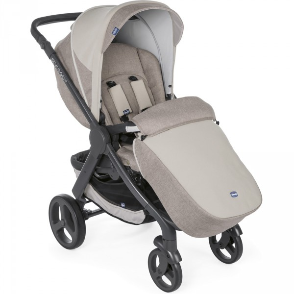 Poussette combinée trio stylego up beige Chicco