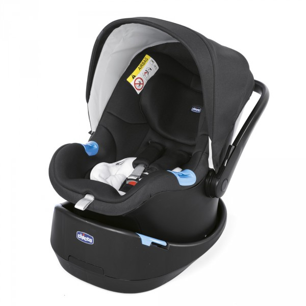 Poussette combinée trio stylego up jet black Chicco