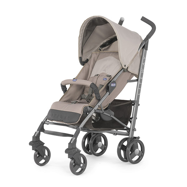 Poussette canne liteway 2 sand Chicco