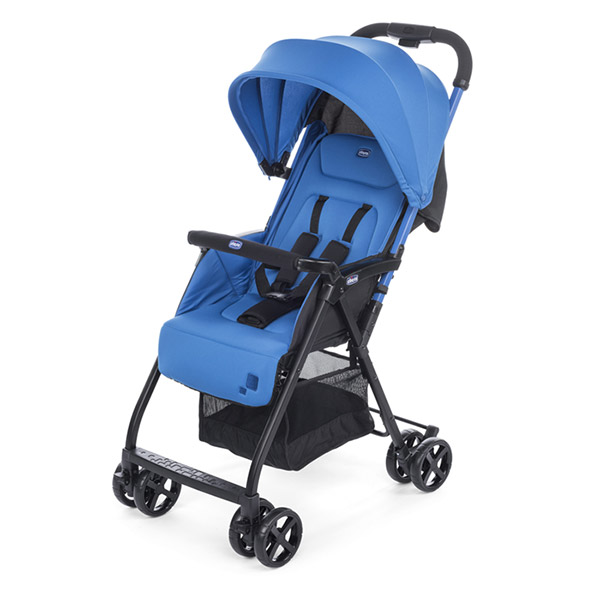 Poussette canne ohlala power blue Chicco