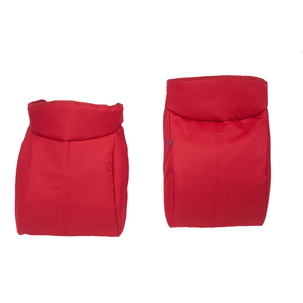 Poussette jumeaux together red Chicco