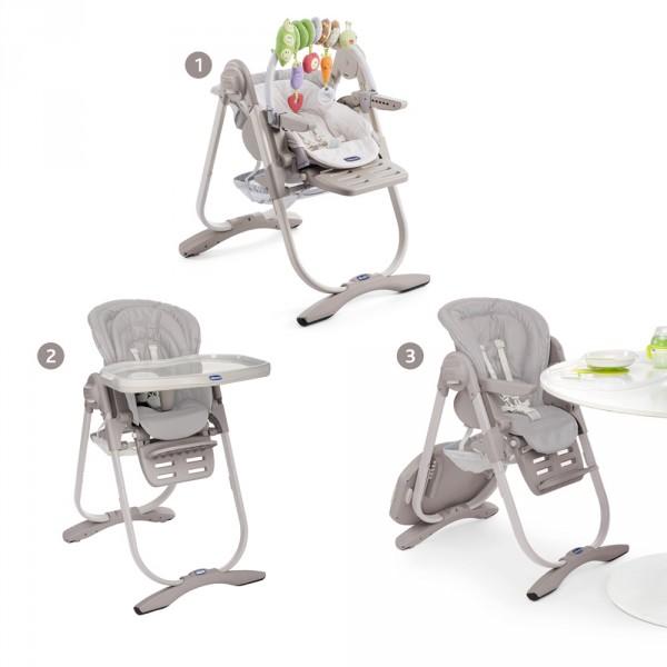 Chaise haute bébé polly magic vapor Chicco