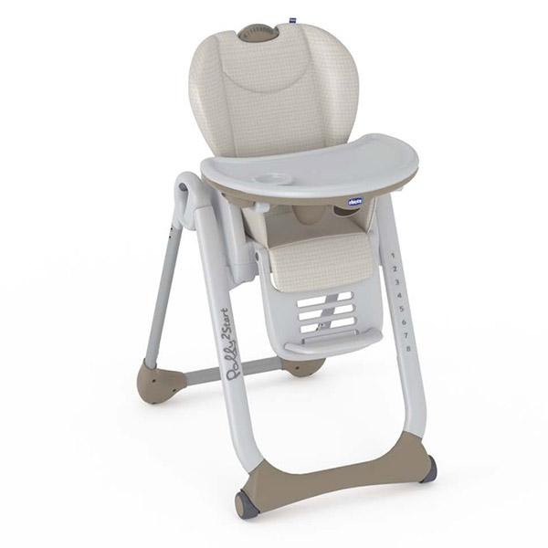 chaise haute b b polly 2 start caramel 20 sur allob b. Black Bedroom Furniture Sets. Home Design Ideas