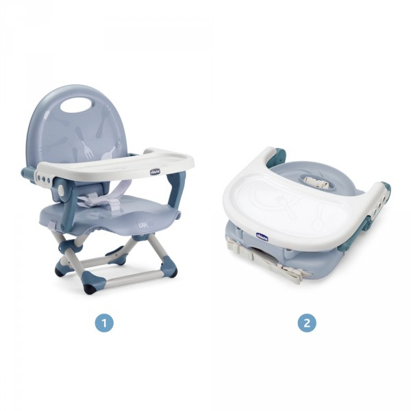 Réhausseur de chaise pocket snack blue sky Chicco