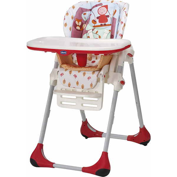 Chaise haute bébé polly 2 en 1 happy land Chicco
