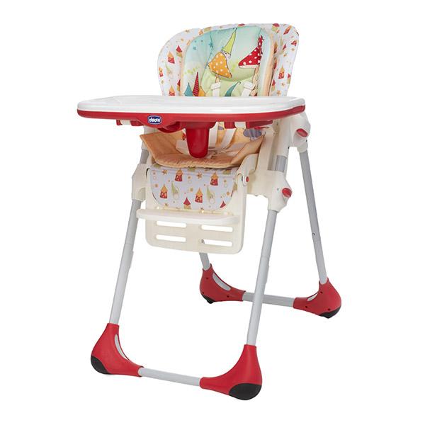 Chaise haute bébé polly 2 en 1 timeless Chicco