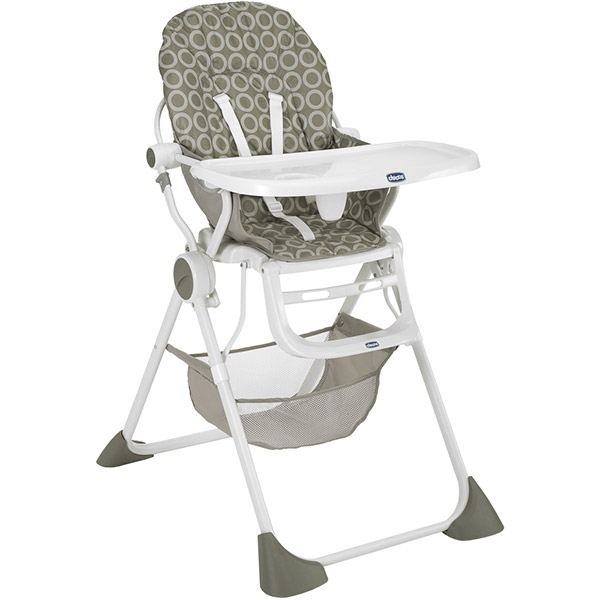 Chaise haute pocket lunch sand Chicco