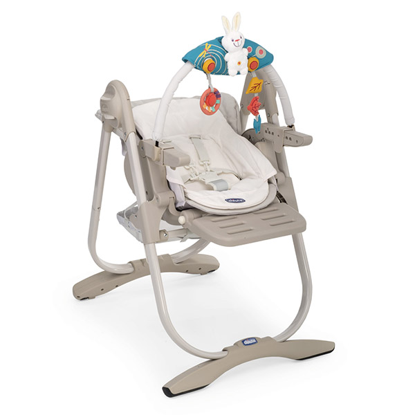 Chaise haute bébé polly magic mirage Chicco