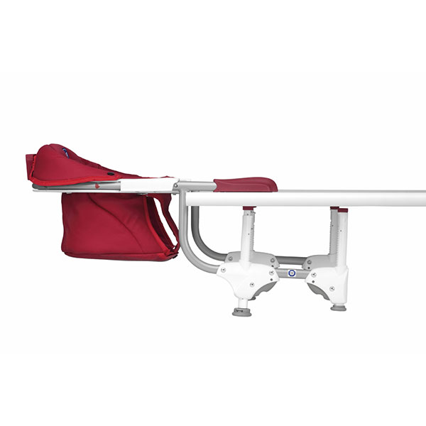 Siege de table 360° scarlet texture douce Chicco