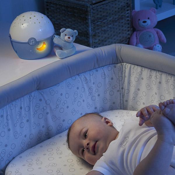 Veilleuse projecteur next2 stars first dream bleue Chicco