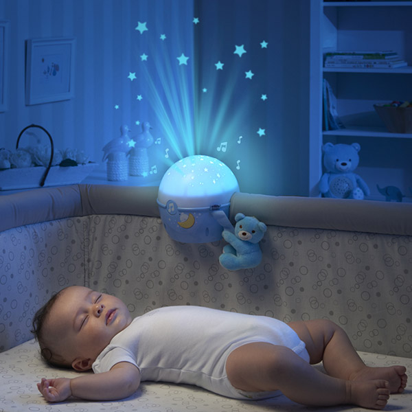 Veilleuse projecteur next2 stars first dream bleue Chicco