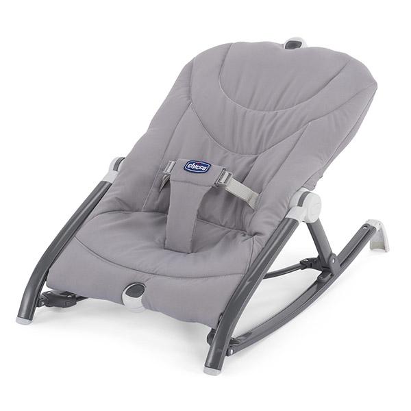 Transat bébé pocket relax gris Chicco