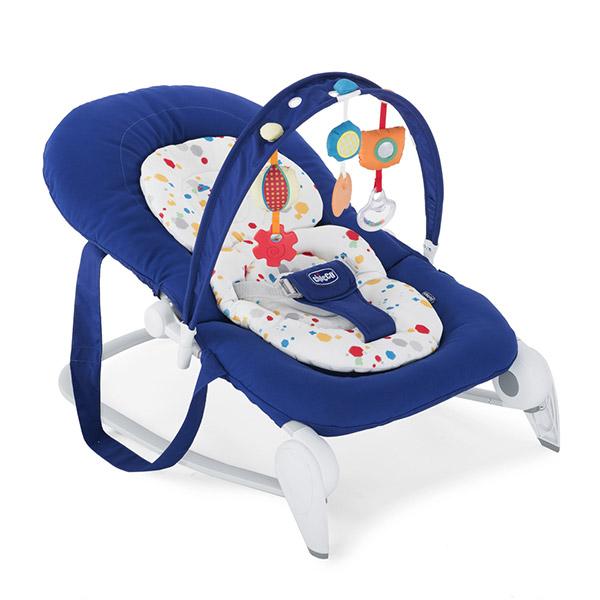 Transat bébé hoopla blue Chicco