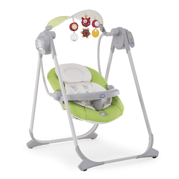 Balancelle bébé polly swing up vert Chicco