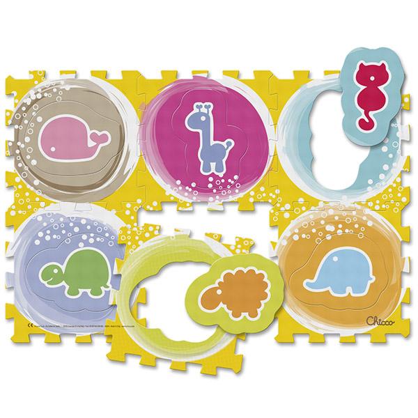 Tapis d'éveil bébé puzzle animaux Chicco