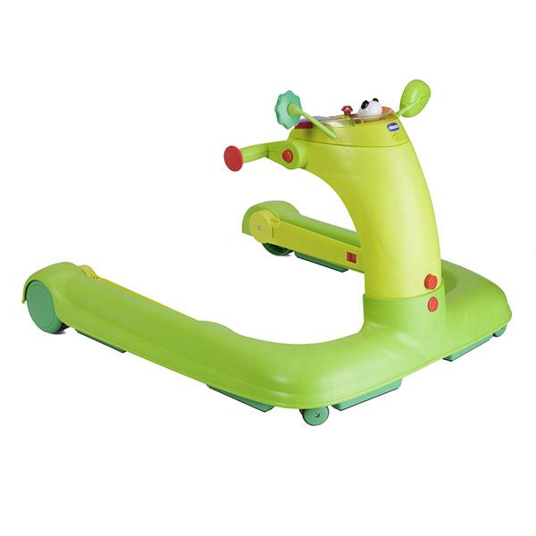 Trotteur bébé 1 2 3 green Chicco