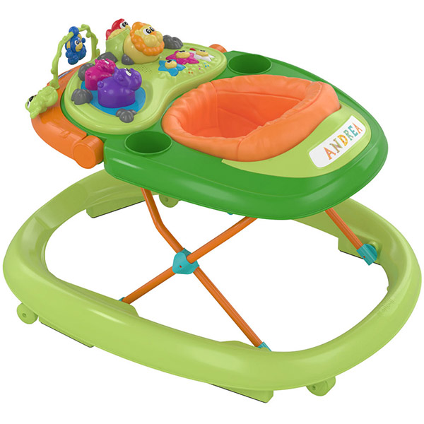 Trotteur bébé walky talky green wave Chicco
