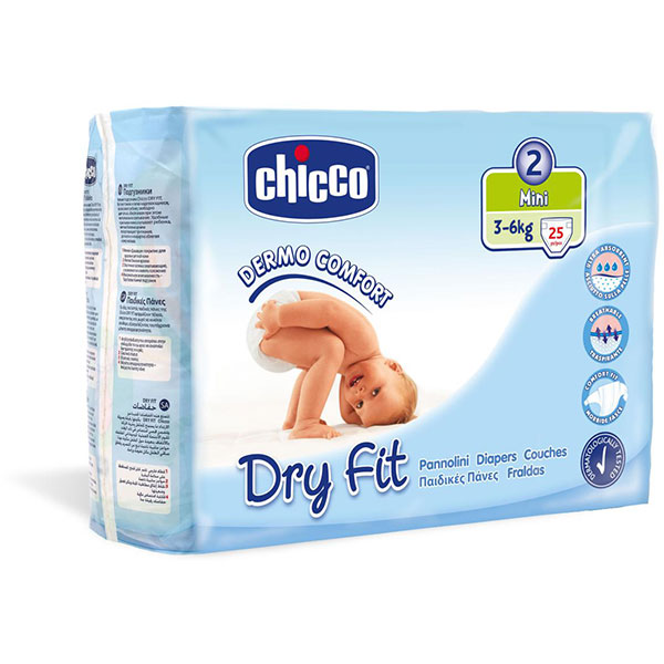 Couches dry fit mini taille 2 3-6 kg Chicco