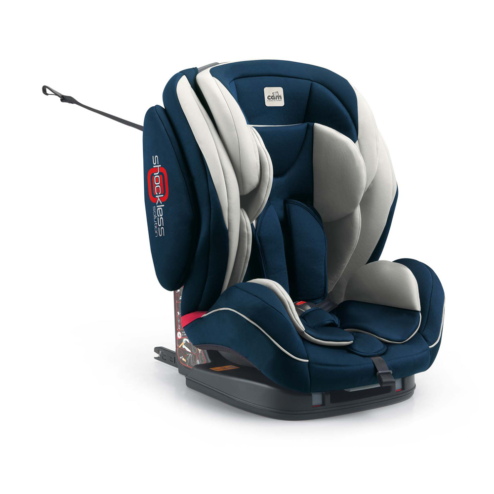 si ge auto regolo isofix bleu marine groupe 1 2 3 de cam. Black Bedroom Furniture Sets. Home Design Ideas