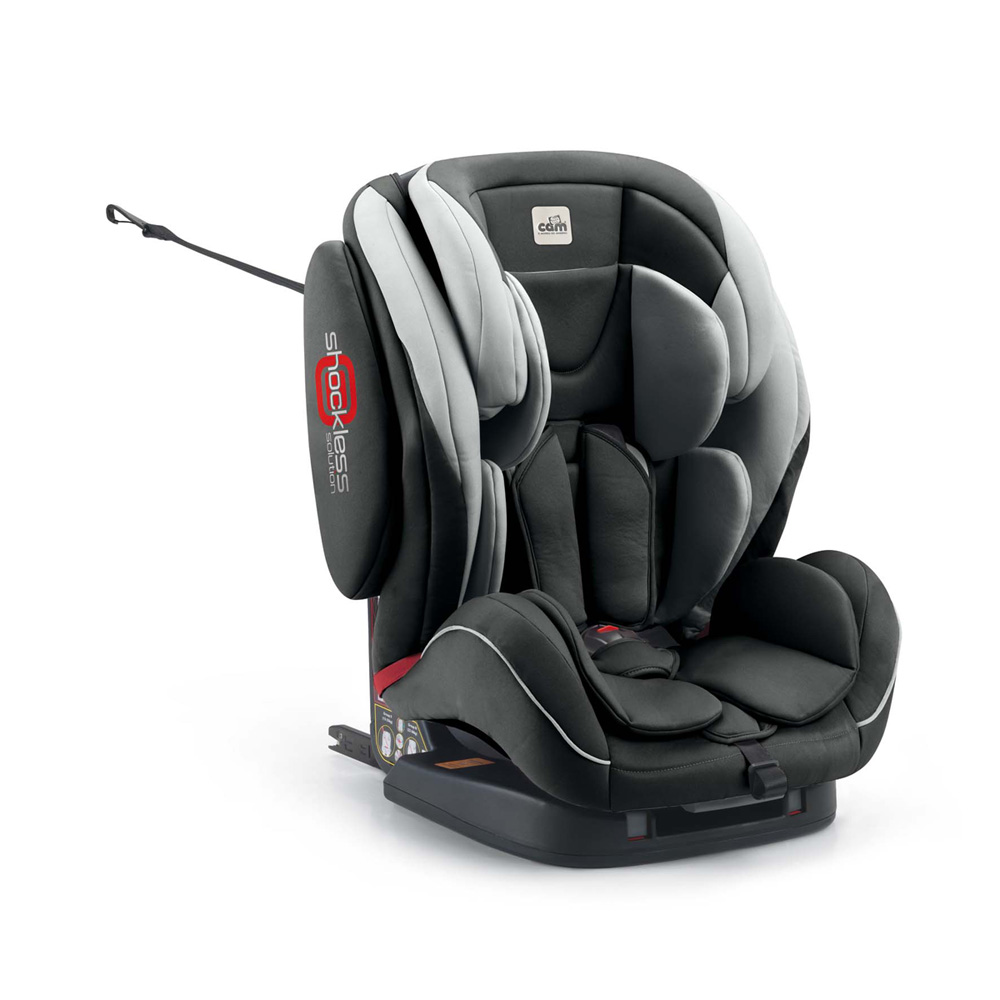 si ge auto regolo isofix gris groupe 1 2 3 de cam sur allob b. Black Bedroom Furniture Sets. Home Design Ideas