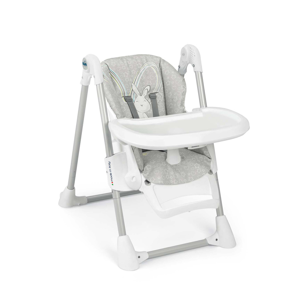 chaise haute b b pappananna lapin de cam sur allob b. Black Bedroom Furniture Sets. Home Design Ideas