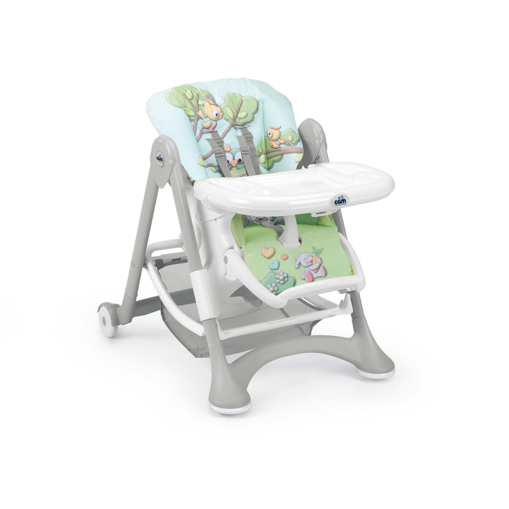 chaise haute b b campione animaux de la for t 30 sur allob b. Black Bedroom Furniture Sets. Home Design Ideas