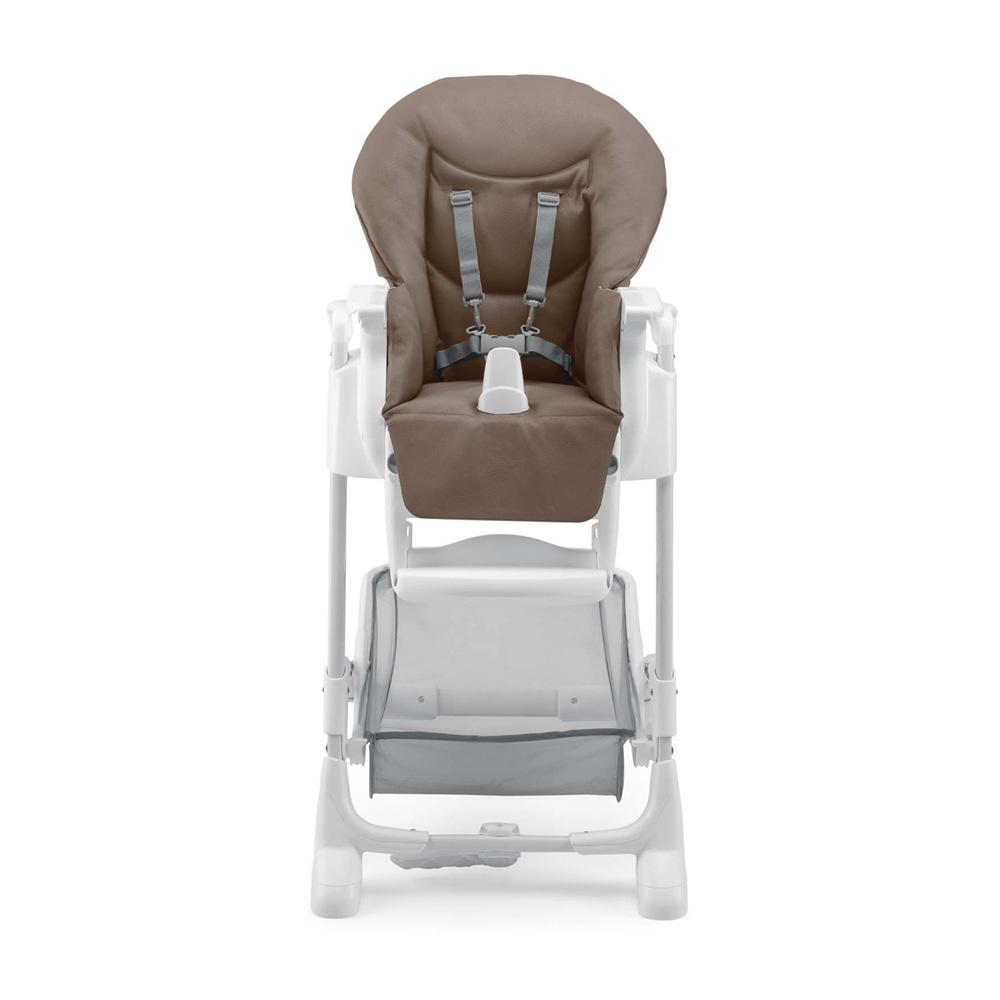 chaise haute b b istante soft marron de cam. Black Bedroom Furniture Sets. Home Design Ideas
