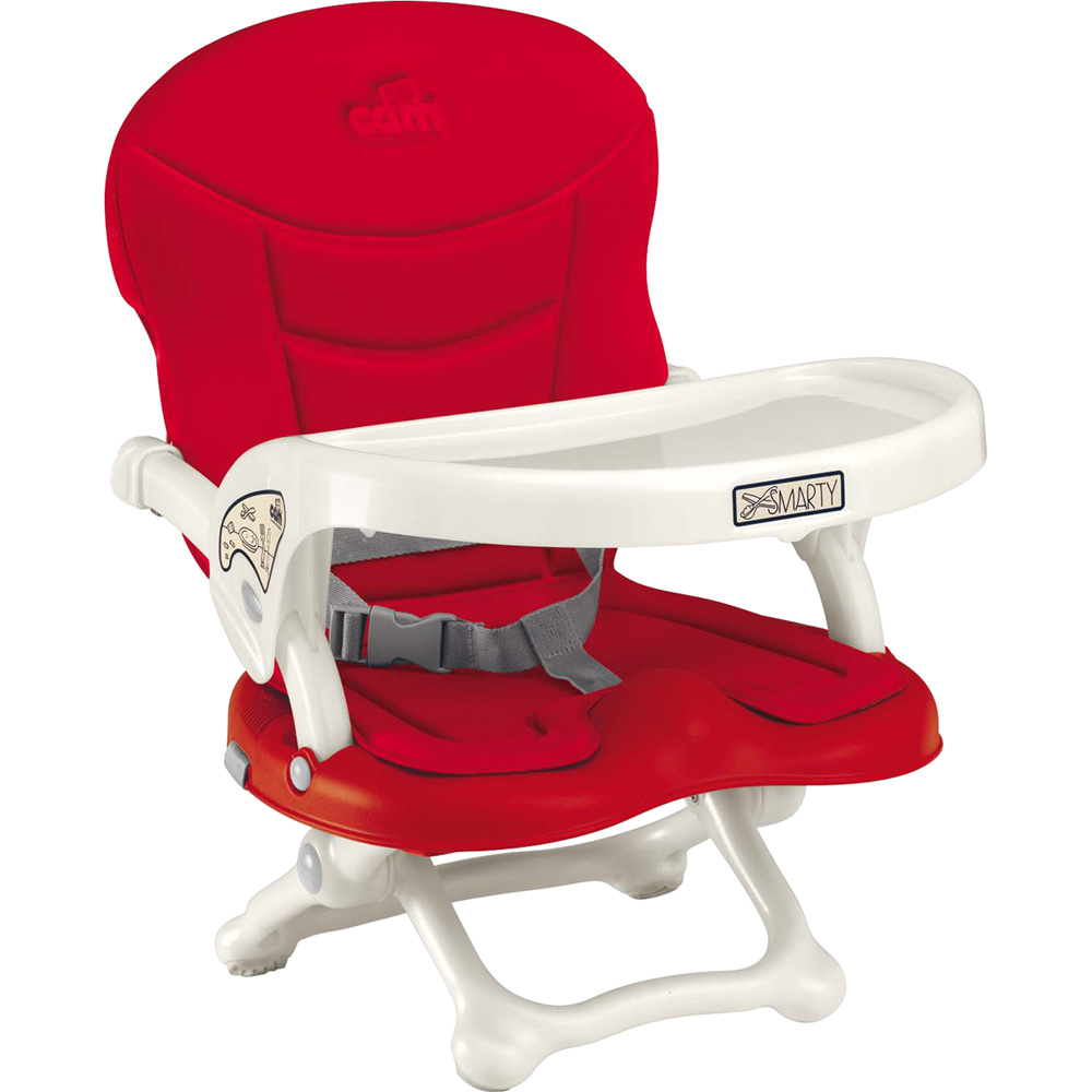 R hausseur de chaise smarty rouge de cam for Rehausseur de chaise 4 ans