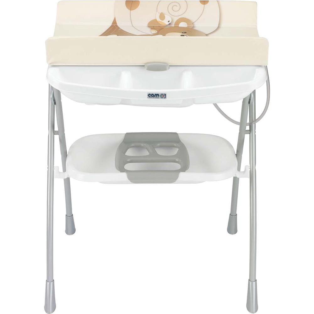 table langer avec la baignoire volare ourson beige de cam. Black Bedroom Furniture Sets. Home Design Ideas