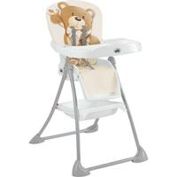 Chaise haute bébé mini plus ourson beige