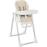 Chaise haute bébé pappananna beige