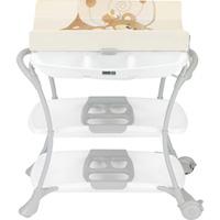 Table à langer avec la baignoire nuvola ourson beige