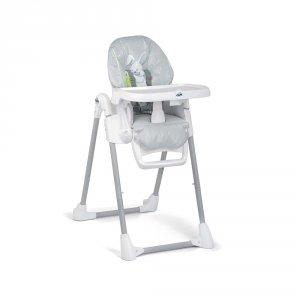 Chaise haute bébé pappananna lapin gris