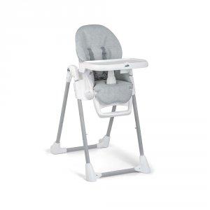 Chaise haute bébé pappananna gris