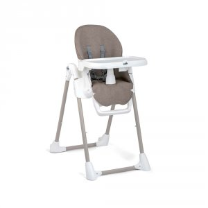 Chaise haute bébé pappananna taupe