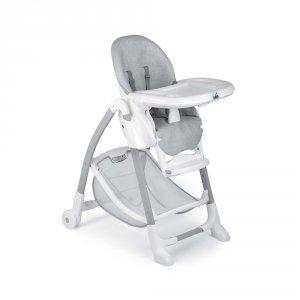 Chaise haute bébé gusto grise