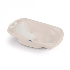 Baignoire bébé ergonomique baby bagno beige