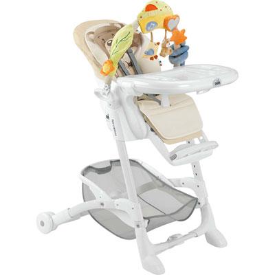 Chaise haute bébé istante ourson Cam