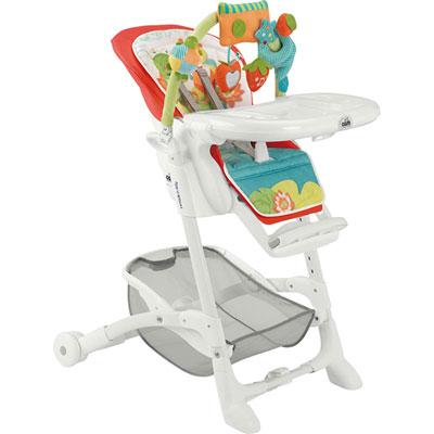 Chaise haute bébé istante grenouille Cam