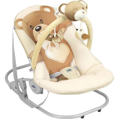 Transat bébé giocam ourson beige Cam