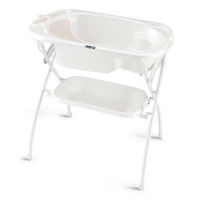 Baignoire bébé avec support bagno blanc Cam