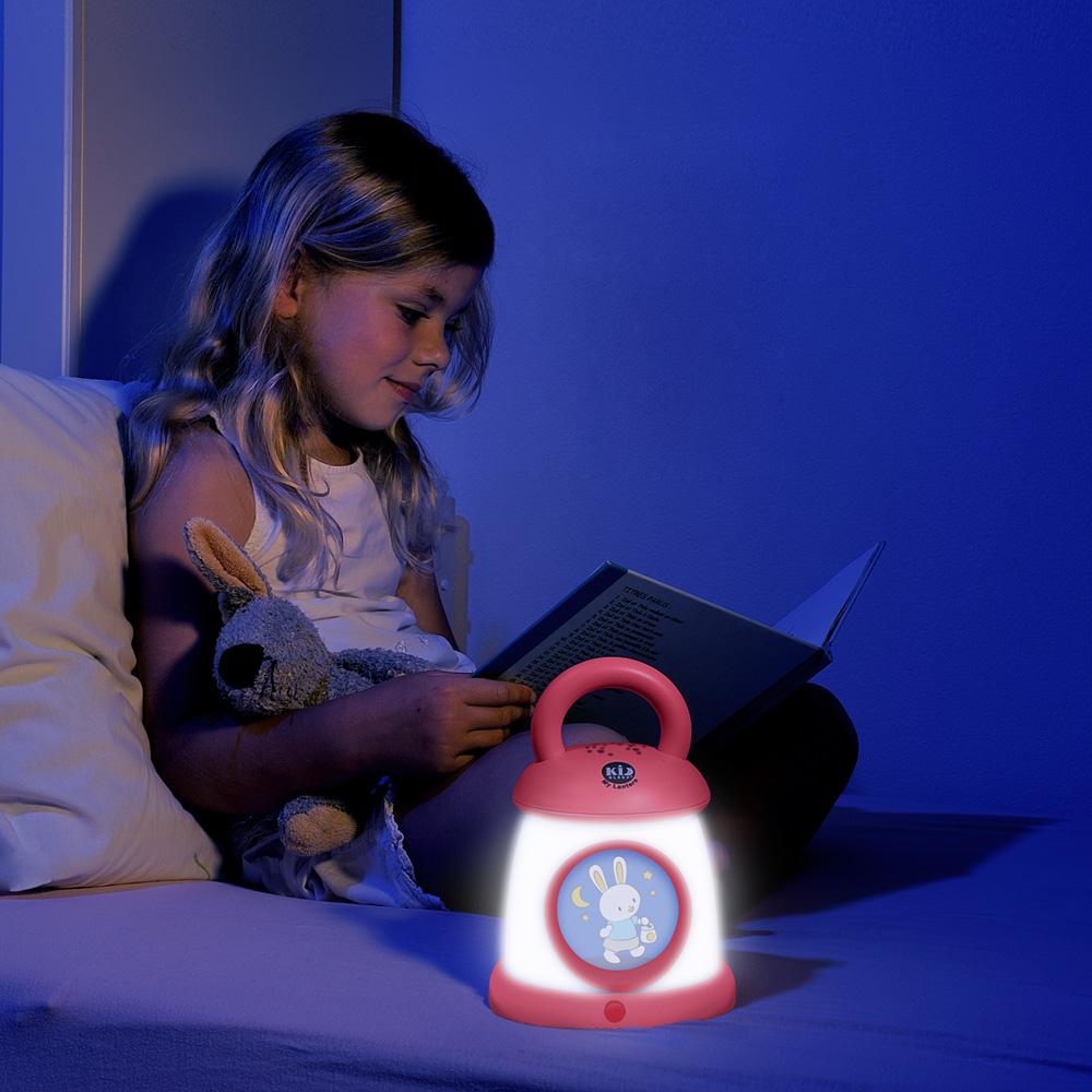 Veilleuse bébé kid sleep my lantern fushia de Kid sleep ...