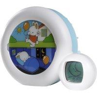Veilleuse réveil bébé musicale évolutive moon blanc