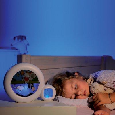 Veilleuse réveil bébé musicale évolutive moon blanc Kid sleep