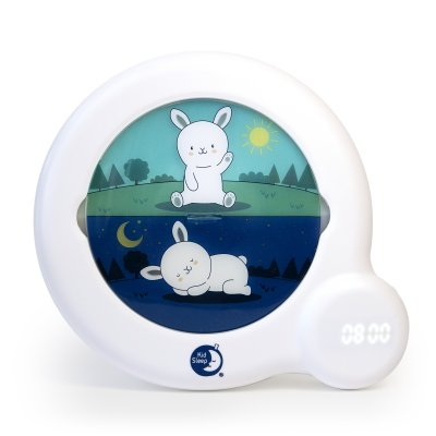 Veilleuse bébé réveil kid sleep classic blanc Kid sleep