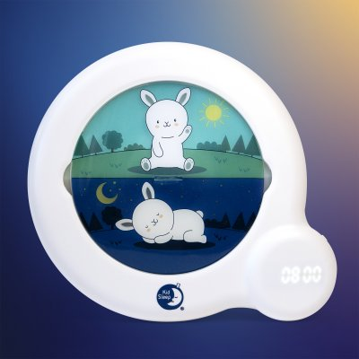 Veilleuse bébé réveil kid sleep classic blanc Kid sleep