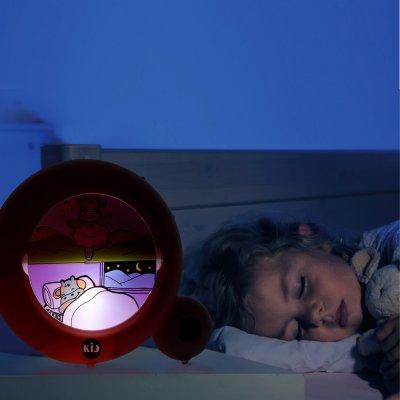 Veilleuse bébé réveil kid sleep classic rose Kid sleep