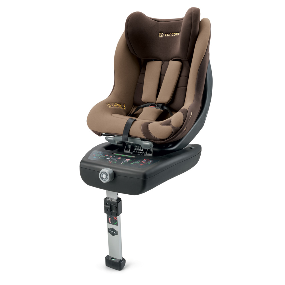 si ge auto ultimax 3 isofix coconut brown groupe 0 1 de concord sur allob b. Black Bedroom Furniture Sets. Home Design Ideas