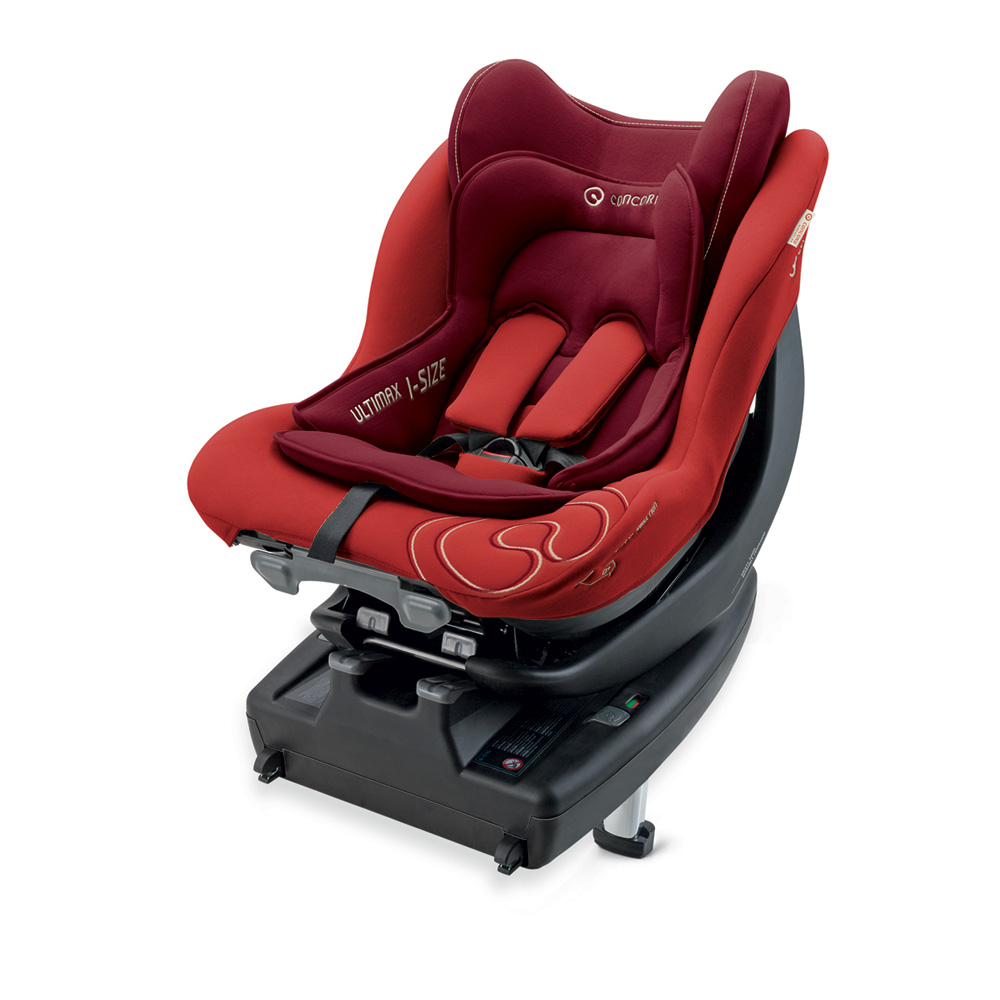 Si ge auto ultimax i size flaming red groupe 0 1 de concord for Siege auto ultimax